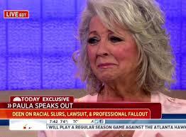Paula Deen Cries