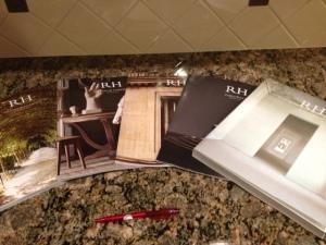 RH Spring 2013 catalogs