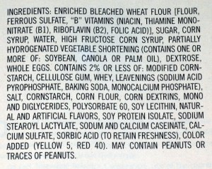 Twinkies ingredients