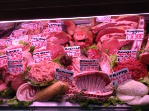 Italian meat case