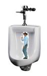 Cowboy Urinal