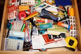 kitchen junk drawer