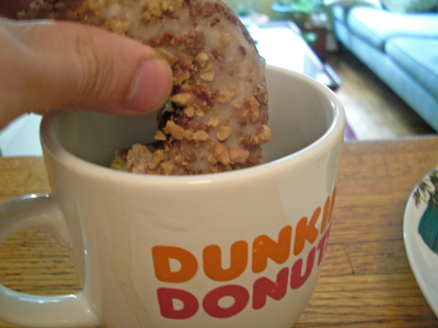 Dunking a Toffee Coffee