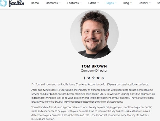 Tom Brown Facilis